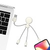 Xoopar Mr. Bio white multi charging cable